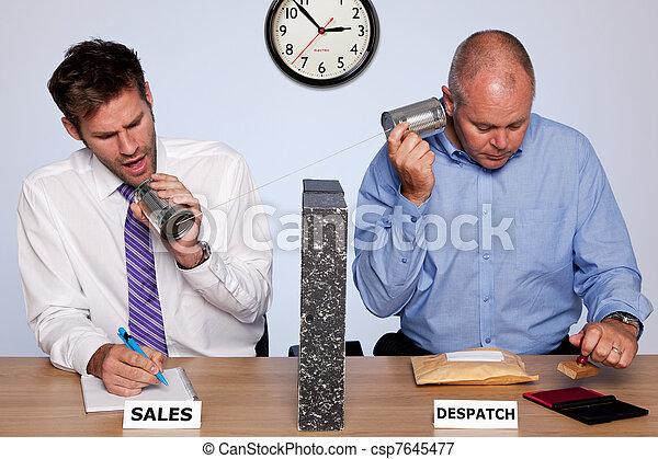 Sales and despatch department - csp7645477