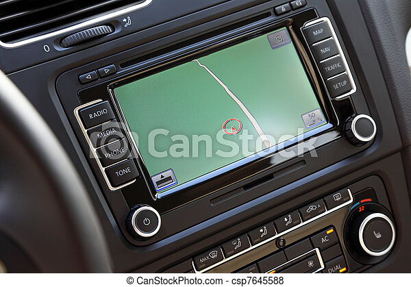 Car navigation multimedia system. - csp7645588