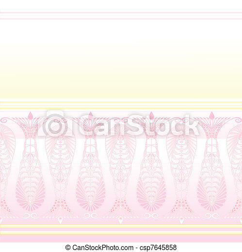 Admirable Pink Patter - csp7645858