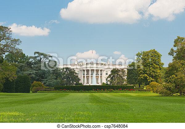 White House in Washington - csp7648084
