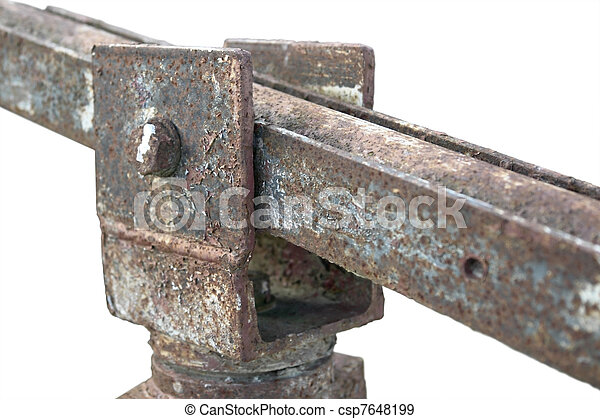 corroded hinge detail - csp7648199