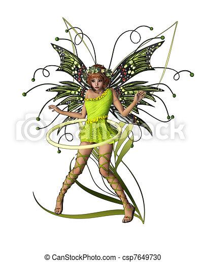 Green Pixie - csp7649730