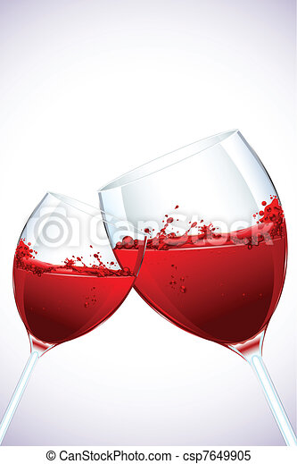Splashing WIne - csp7649905