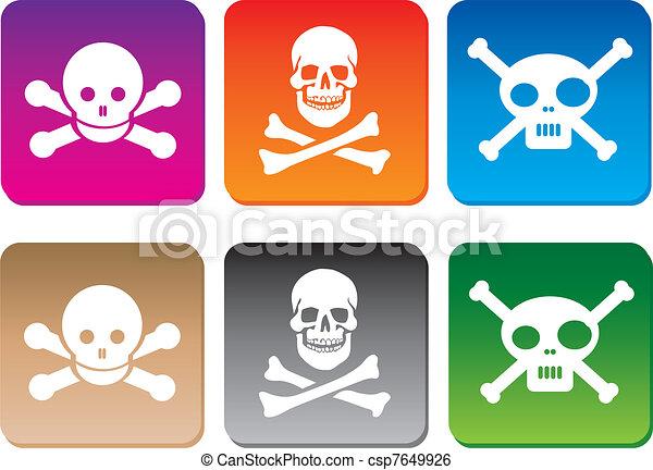 Danger icons - csp7649926