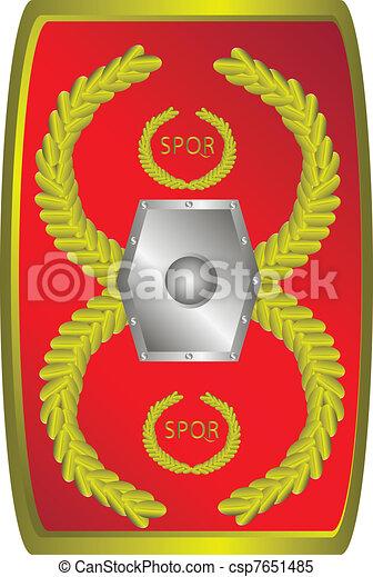 Clipart vector van legionary romein schild romein for Romeins schild