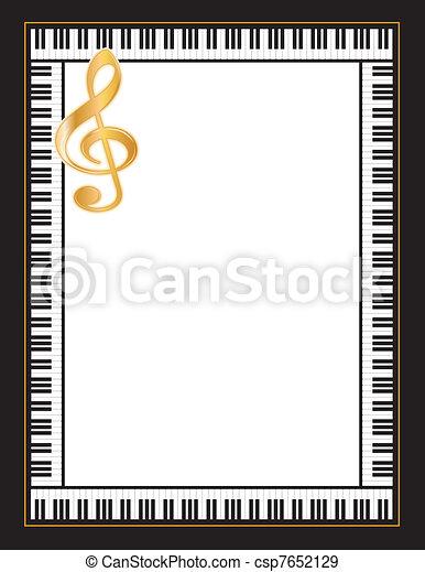 Music Poster - csp7652129