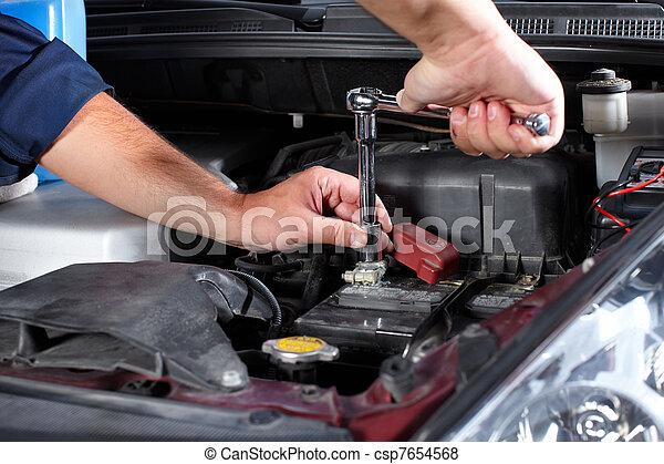 Auto mechanic - csp7654568
