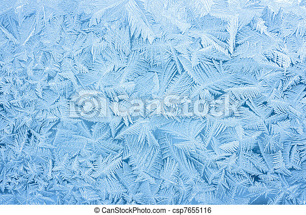 abstract frost background - csp7655116