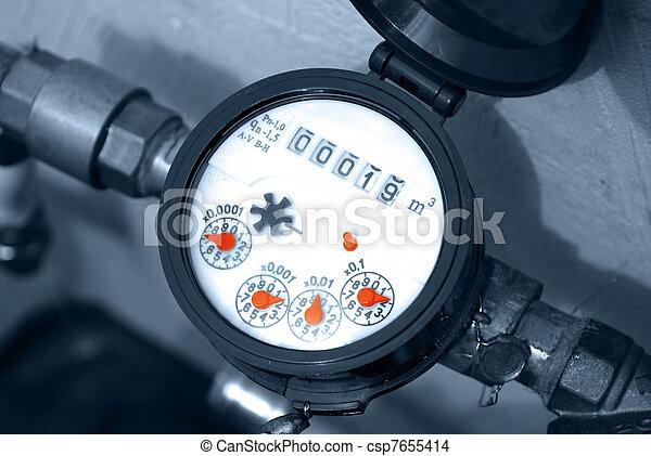 meter of the water - csp7655414