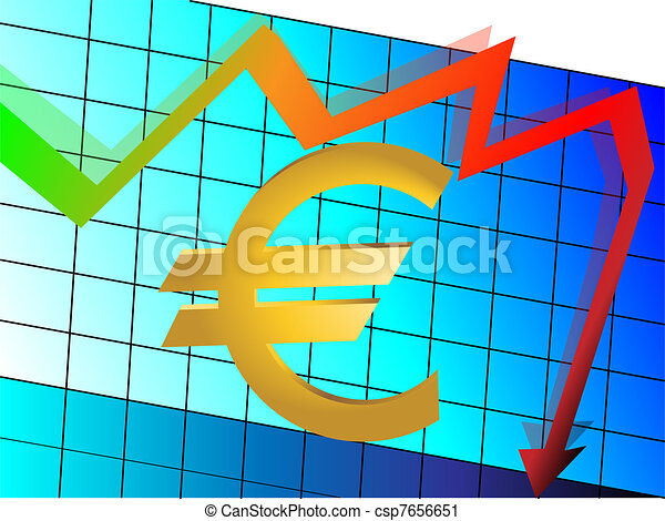 euro problem - csp7656651
