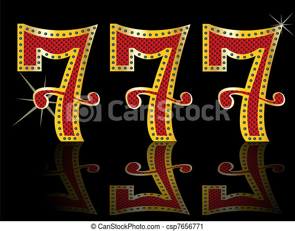 lucky seven slot Machine Jackpot  - csp7656771