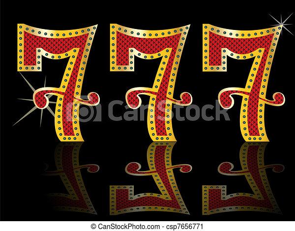 lucky seven slot Machine Jackpot  - csp7656771