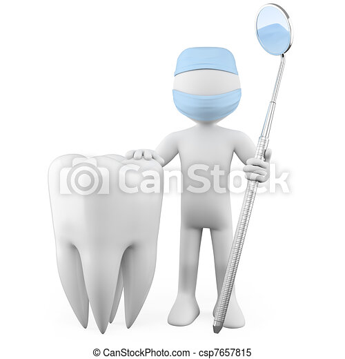 Illustrations de dentiste a dent et a bouche for Miroir de dentiste