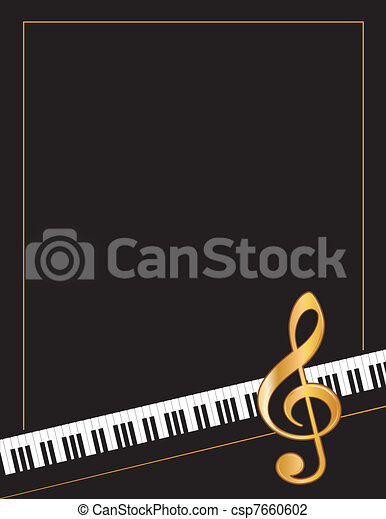 Music Poster - csp7660602