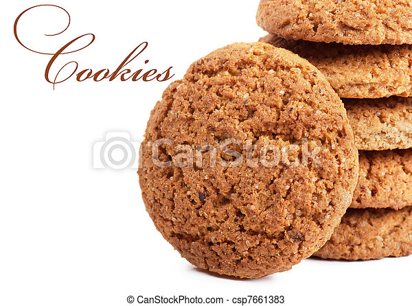 Oatmeal cookies - csp7661383