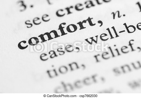 Dictionary Series - Comfort - csp7662030