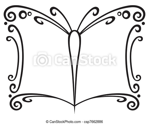 Book symbol - csp7662886