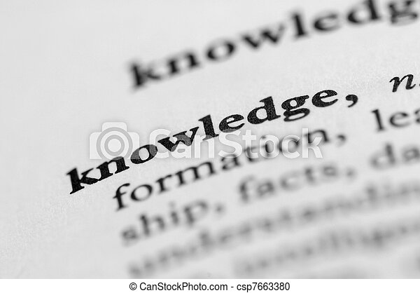 Dictionary Series - Knowledge - csp7663380