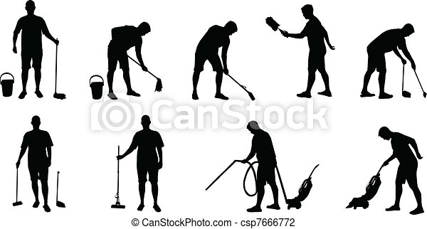 Janitorial Clip Art Vector Graphics. 85 Janitorial EPS clipart ...