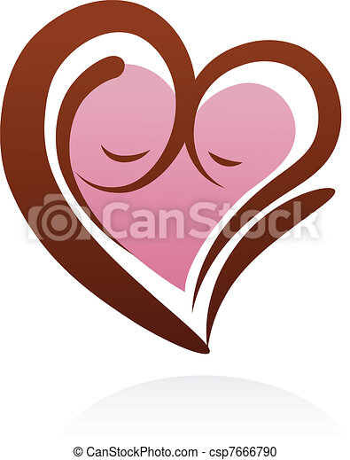 motherhood icon and symbol - csp7666790