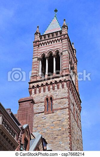 Boston Old South Church - csp7668214