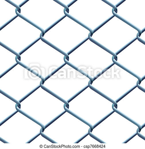 Seamless barbed wire pattern - csp7668424