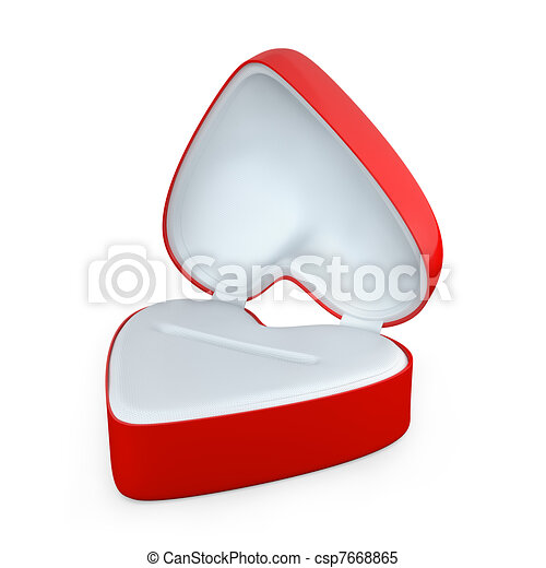Heart Shaped Box Drawing Red Heart Shaped Box For