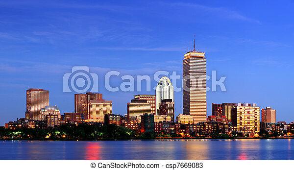 Boston - csp7669083