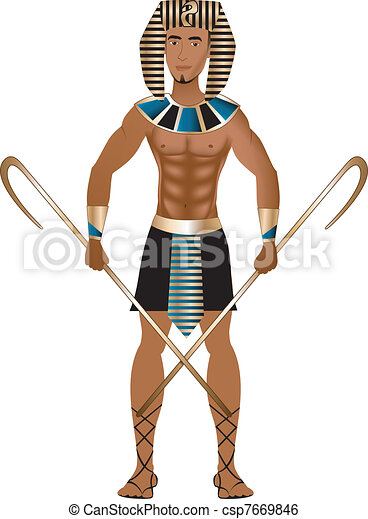 Egyptian Carnival Costume - csp7669846