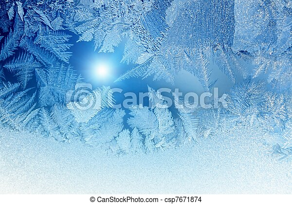 Frozen window - csp7671874
