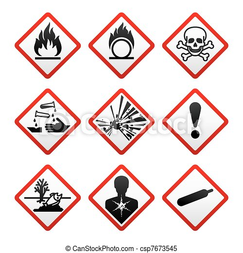 New safety symbols - csp7673545