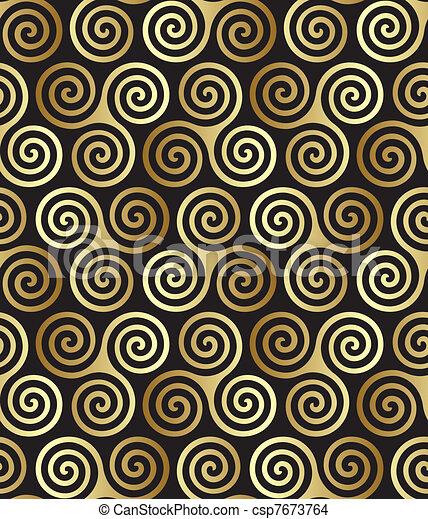 Seamless celtic pattern - csp7673764