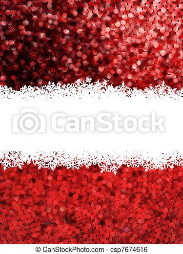 Christmas Shine mosaic background. EPS 8 - csp7674616