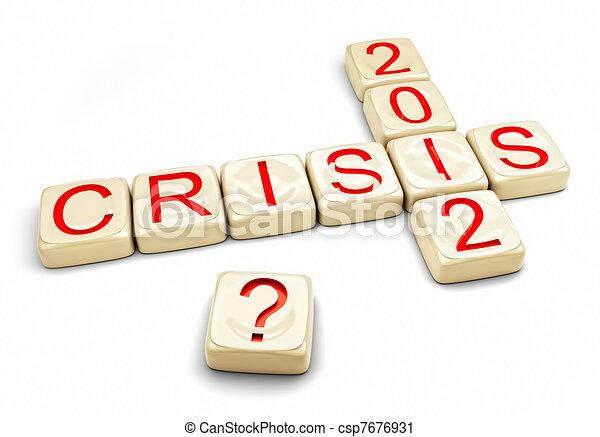 crisis of 2012 - csp7676931