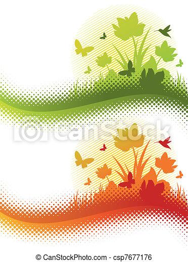 Summer flowers - csp7677176