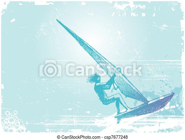 Windsurfing - csp7677248