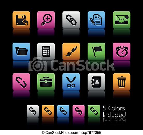 Web Interface / ColorBox - csp7677355