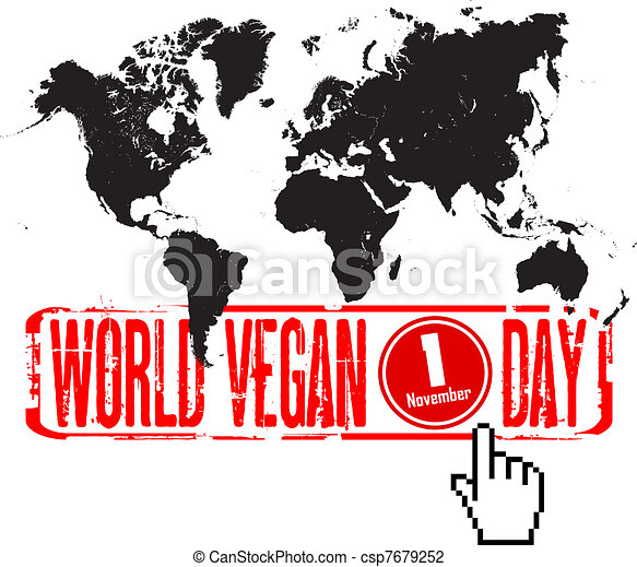 world vegan day - csp7679252
