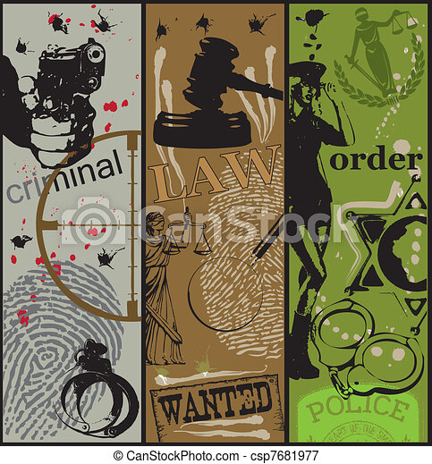 Criminal law order - csp7681977