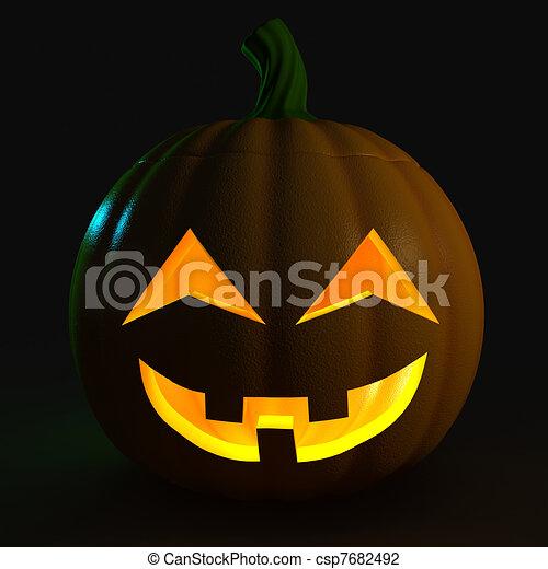 Jack-o-Lantern - csp7682492