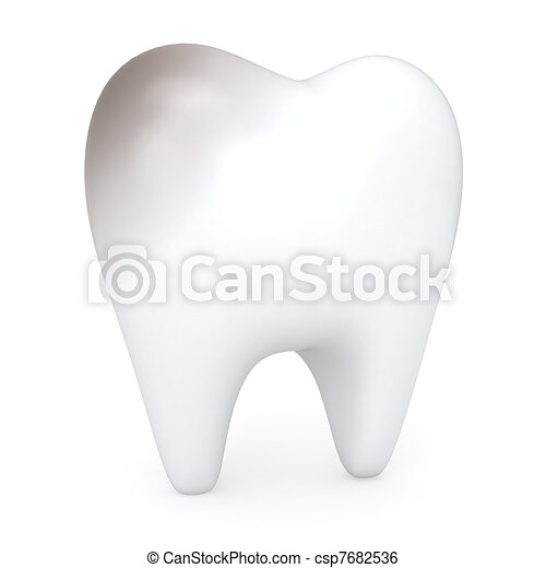 Unhealthy Tooth - csp7682536