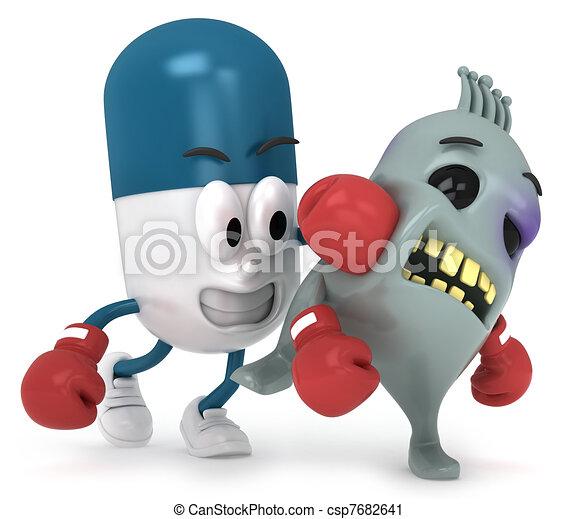 Capsule Versus Virus - csp7682641