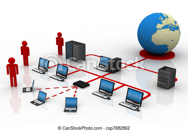 Clip Art Network Clipart computer network illustrations and clip art 219112 clipartby hywards59 network
