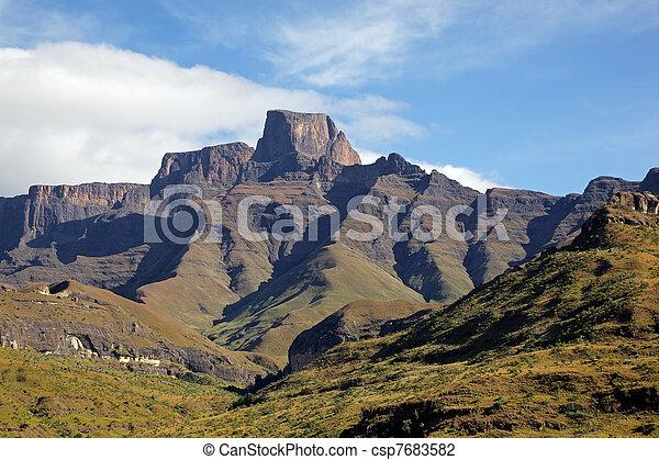 montagne,  Drakensberg - csp7683582