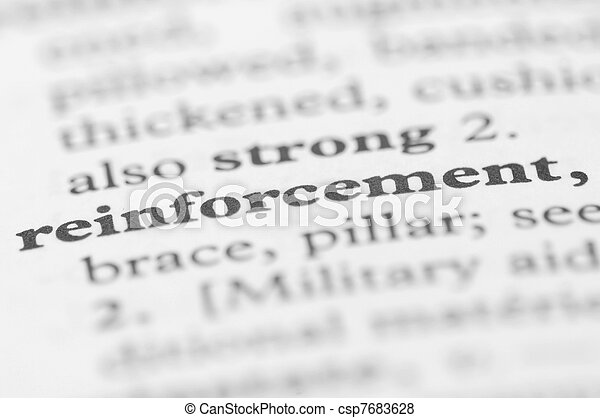 Dictionary Series - Reinforcement - csp7683628