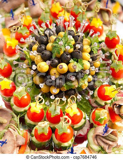Image de canape ap ritif canap ap ritif peu profond for Canape aperitif