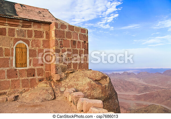 Chapel on mount sinai - csp7686013