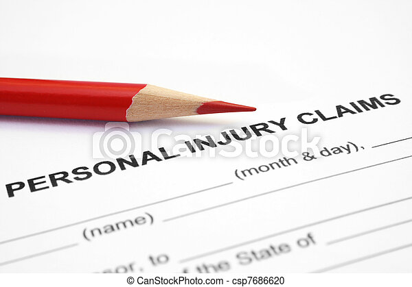 Personal injury claim - csp7686620