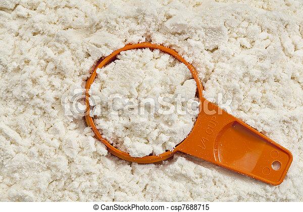 whey protein powder scoop - csp7688715