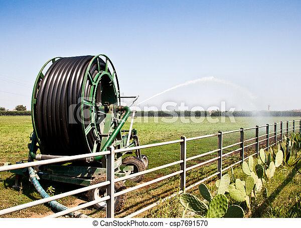 Irrigation - csp7691570
